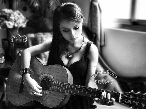 Taipei Life Art Music Guitar Gothic Girl Romanticism Yalan雅岚文艺博客